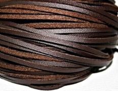 BRITISH QUALITY Leather Laces 90cm long choice of colours
